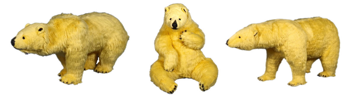 Yellow Polar Bears